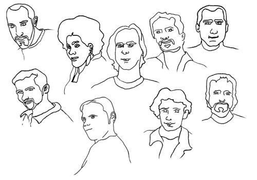 PC Octet drawing
